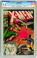 X-Men #54 Pacific Coast pedigree (Marvel, 1969) CGC NM/MT 9.8 Off-white to white pages