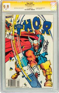 Thor #337 Signature Series (Marvel, 1983) CGC MT 9.9 White pages
