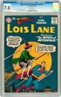 Silver Age (1956-1969):Superhero, Superman's Girlfriend Lois Lane #1 (DC, 1958) CGC FN/VF 7.0Off-white pages....