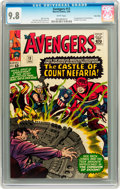 Silver Age (1956-1969):Superhero, The Avengers #13 Twin Cities pedigree (Marvel, 1965) CGC NM/MT 9.8White pages....