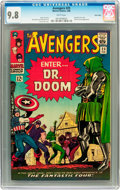 Silver Age (1956-1969):Superhero, The Avengers #25 Twin Cities pedigree (Marvel, 1966) CGC NM/MT 9.8White pages....