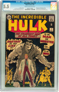 Silver Age (1956-1969):Superhero, The Incredible Hulk #1 (Marvel, 1962) CGC FN- 5.5 Cream tooff-white pages....