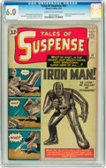 Silver Age (1956-1969):Superhero, Tales of Suspense #39 (Marvel, 1963) CGC FN 6.0 Cream to off-whitepages....