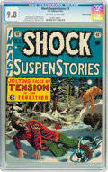 Golden Age (1938-1955):Horror, Shock SuspenStories #3 Gaines File pedigree 8/12 (EC, 1952) CGCNM/MT 9.8 Off-white to white pages....