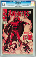 Silver Age (1956-1969):Superhero, The Avengers #57 Rocky Mountain pedigree (Marvel, 1968) CGC NM/MT9.8 White pages....