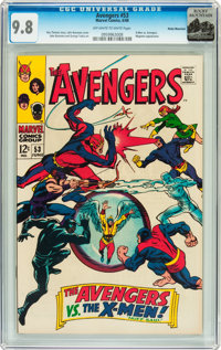 The Avengers #53 Rocky Mountain pedigree (Marvel, 1968) CGC NM/MT 9.8 Off-white to white pages