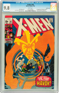 Silver Age (1956-1969):Superhero, X-Men #58 Pacific Coast pedigree (Marvel, 1969) CGC NM/MT 9.8 Whitepages....