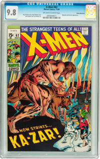 X-Men #62 Rocky Mountain pedigree (Marvel, 1969) CGC NM/MT 9.8 Off-white to white pages