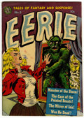Golden Age (1938-1955):Horror, Eerie #3 (Avon, 1951) Condition: VG/FN....
