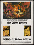 "Movie Posters:War, The Green Berets (Warner Brothers, 1968). Poster (30"" X 40""). War...."