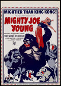 "Movie Posters:Adventure, Mighty Joe Young (Amanda Films, R-1960s). Poster (20"" X 28.5"").Adventure. ..."