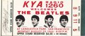 Music Memorabilia:Tickets, Beatles Unused Ticket to Final Performance. The Beatles performedtheir last concert before paying fans at on August 29, 196...(Total: 1 Item)
