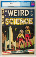Golden Age (1938-1955):Science Fiction, Weird Science #7 (EC, 1951) CGC NM- 9.2 Off-white pages....