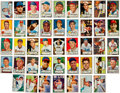 Baseball Cards:Lots, 1952 Topps Baseball Autographed Collection (43). ...