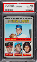 Baseball Cards:Singles (1970-Now), 1970 Topps NL Pitching Leaders #69 PSA Gem Mint 10 - Pop Six. ...