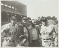 Autographs:Photos, 1942 Babe Ruth Signed Photograph from The Pride of the Yankees Filming....