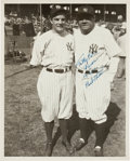 Autographs:Photos, 1942 Babe Ruth Signed Photograph from The Pride of theYankees Filming....
