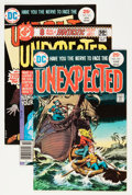 Bronze Age (1970-1979):Horror, Unexpected Group (DC, 1975-82) Condition: Average VF.... (Total: 19Comic Books)
