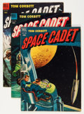 Golden Age (1938-1955):Science Fiction, Tom Corbett Space Cadet Group (Dell, 1952-54).... (Total: 3 ComicBooks)