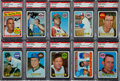 Baseball Cards:Lots, 1969 Topps Baseball PSA Gem MT 10 Collection (10) With #423 - PopOne!...