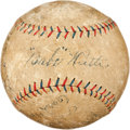 Autographs:Baseballs, 1922 New York Yankees Team Signed Baseball....