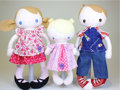 Movie/TV Memorabilia:Toys, Bit of Whimsy Dolls Three Doll Set. Benefitting Mercury One . ...