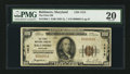 National Bank Notes:Maryland, Baltimore, MD - $100 1929 Ty. 1 The First NB Ch. # 1413. ...
