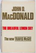 Books:Mystery & Detective Fiction, John D. MacDonald. The Dreadful Lemon Sky. Hale, 1976. FirstBritish edition, first printing. Slight lean. Toning. N...