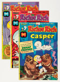 Bronze Age (1970-1979):Cartoon Character, Richie Rich and Casper File Copy Short Box Group (Harvey, 1974-82)Condition: Average NM-....