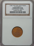 Civil War Patriotics, (1861-65) The Federal Union MS63 Red and Brown NGC.Fuld-219/320a....