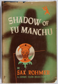 Books:Mystery & Detective Fiction, Sax Rohmer. Shadow of Fu Manchu. Doubleday, 1948. Firstedition, first printing. Toning. Owner inscription. Very...