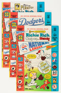 Bronze Age (1970-1979):Cartoon Character, Richie Rich, Casper and Wendy National League #1 File Copies Group(Harvey, 1976) Condition: Average NM-.... (Total: 48 Comic Books)