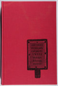 Books:Books about Books, Andrew W. Tuer. History of the Horn Book. Blom, 1968. Facsimile edition. Fine....