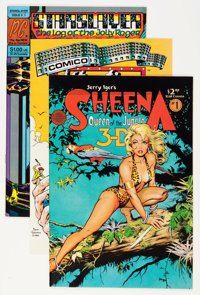 Dave Stevens Modern Age Comics Group (Various Publishers, 1980s) Condition: Average NM.... (Total: 5 Comic Books)