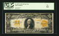 Large Size:Gold Certificates, Fr. 1187* $20 1922 Gold Certificate Star Note PCGS Fine 12.. ...