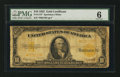 Large Size:Gold Certificates, Fr. 1173* $10 1922 Gold Certificate Star Note PMG Good 6.. ...