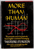 Books:Science Fiction & Fantasy, Theodore Sturgeon. INSCRIBED. More Than Human. Farrar,Straus & Young, 1953. First edition, first printing. Si...