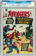 Silver Age (1956-1969):Superhero, The Avengers #15 (Marvel, 1965) CGC NM/MT 9.8 White pages....