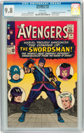 Silver Age (1956-1969):Superhero, The Avengers #19 Curator pedigree (Marvel, 1965) CGC NM/MT 9.8White pages....
