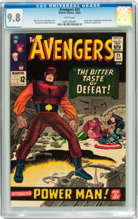 The Avengers #21 (Marvel, 1965) CGC NM/MT 9.8 White pages