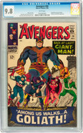 Silver Age (1956-1969):Superhero, The Avengers #28 (Marvel, 1966) CGC NM/MT 9.8 White pages....