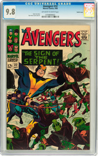 The Avengers #32 Pacific Coast pedigree (Marvel, 1966) CGC NM/MT 9.8 Off-white to white pages