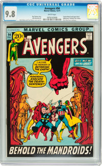 The Avengers #94 (Marvel, 1971) CGC NM/MT 9.8 White pages