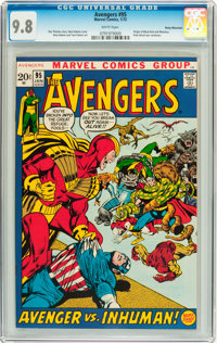 The Avengers #95 Rocky Mountain pedigree (Marvel, 1972) CGC NM/MT 9.8 White pages