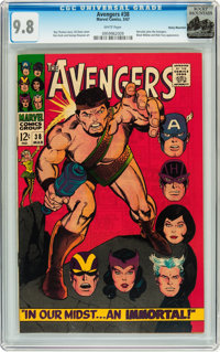 The Avengers #38 Rocky Mountain pedigree (Marvel, 1967) CGC NM/MT 9.8 White pages