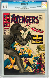 The Avengers #37 Rocky Mountain pedigree (Marvel, 1967) CGC NM/MT 9.8 White pages