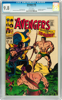 The Avengers #40 Rocky Mountain pedigree (Marvel, 1967) CGC NM/MT 9.8 White pages