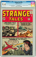 Silver Age (1956-1969):Superhero, Strange Tales #102 Pacific Coast pedigree (Marvel, 1962) CGC NM 9.4 Off-white to white pages....