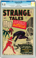 Silver Age (1956-1969):Superhero, Strange Tales #106 Pacific Coast pedigree (Marvel, 1963) CGC NM/MT 9.8 White pages....