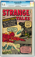 Silver Age (1956-1969):Superhero, Strange Tales #105 (Marvel, 1963) CGC NM+ 9.6 Off-white to whitepages....